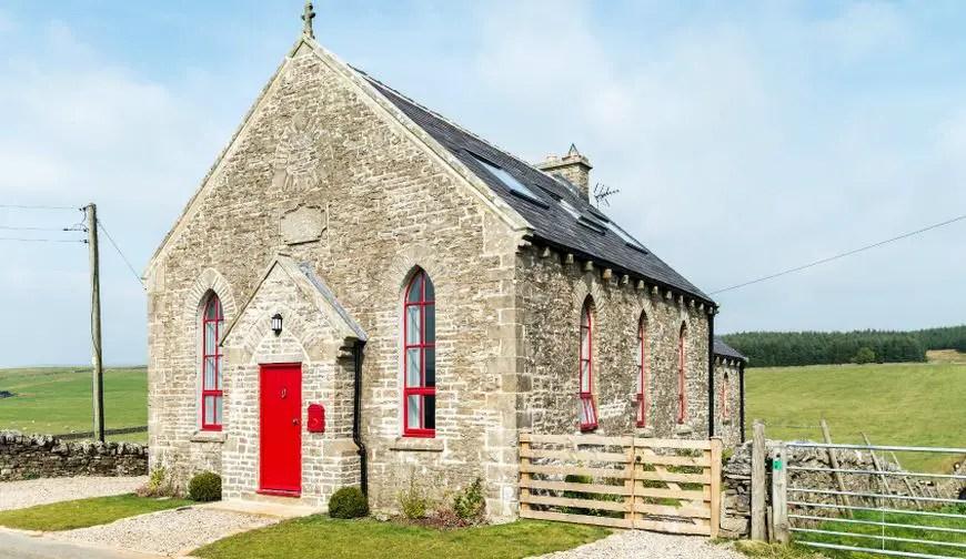 Casa din capela spectaculoasa