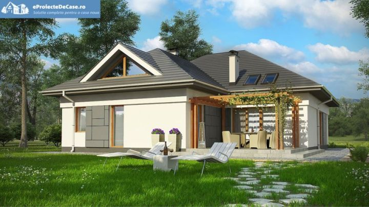 case cu lucarne Dormer window house plans