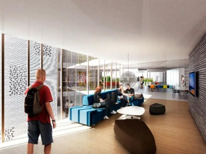 cele mai moderne camine studentesti modern student housing architectural design 12