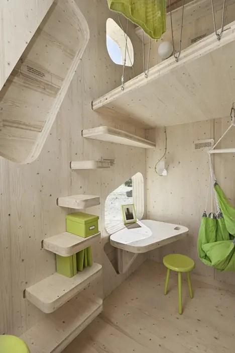 cele mai moderne camine studentesti modern student housing architectural design 7