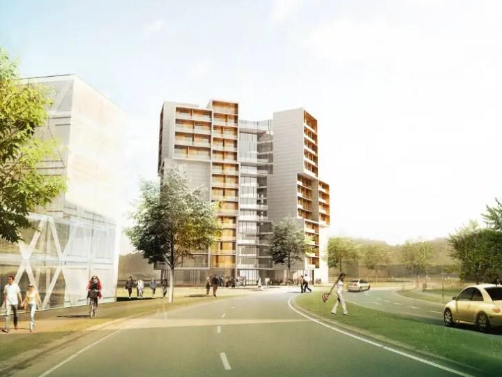 cele mai moderne camine studentesti modern student housing architectural design