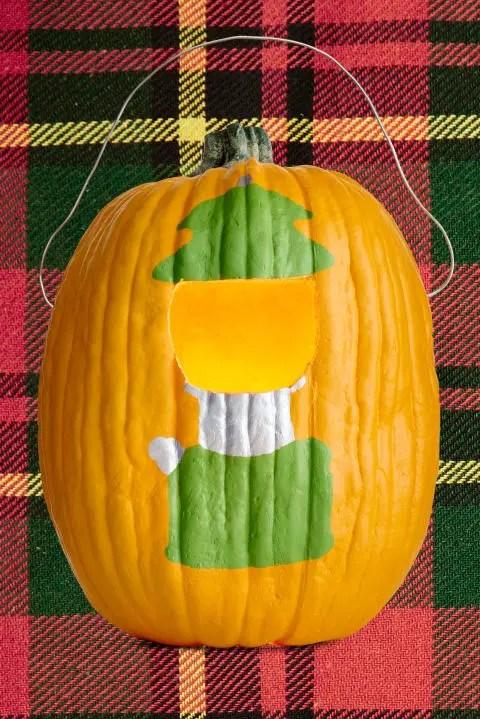 Decoratiuni din dovleci de Halloween