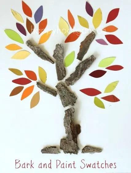 decoratiuni din scoarta de copac tree bark decorations 3
