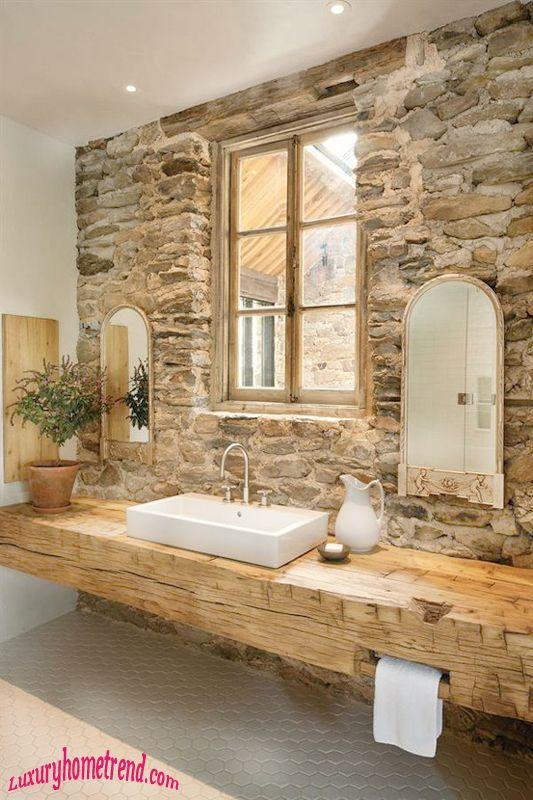 Piatra decorativa pentru baie relaxanta