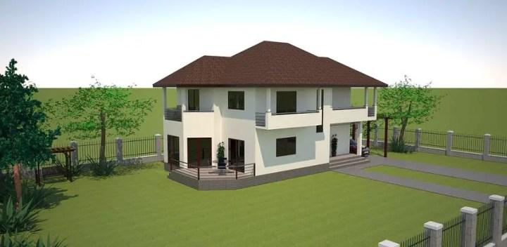 proiecte de case cu trei dormitoare Three bedroom house plans 10