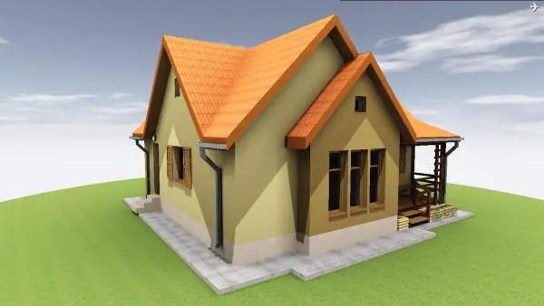 Proiecte de case din barne ecologica