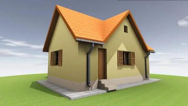 proiecte de case din barne Timberframe house plans 3