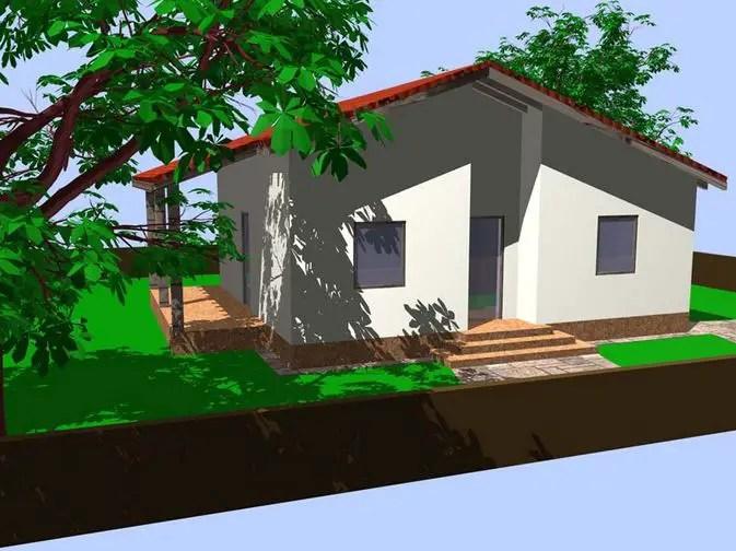 Proiecte de case mici din osb ecologice