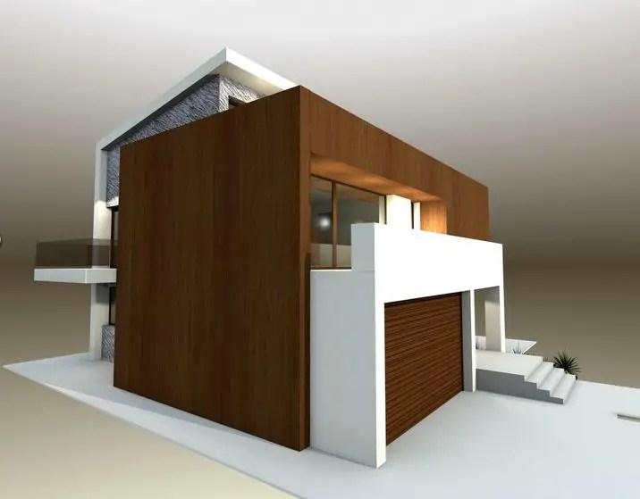 proiecte de case moderne cu balcoane in relief protruding balcony modern house plans 6