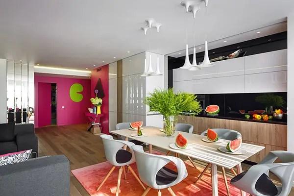 apartamentul colorat the colorful apartment