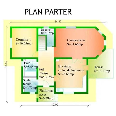 case cu bovindou Bay window house plans 3