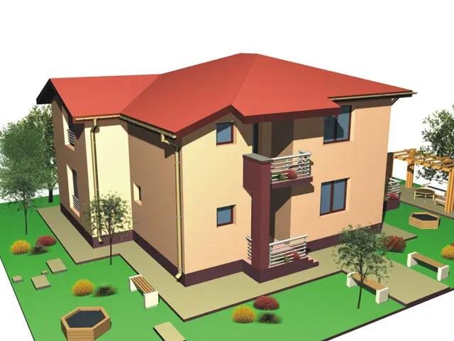 case cu bovindou Bay window house plans