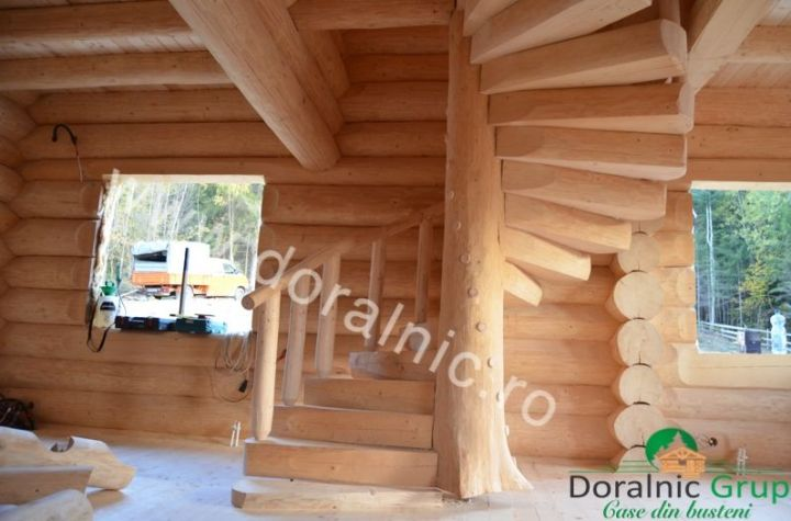 case ieftine din lemn rotund Cheap log houses 3