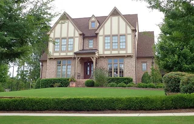 case in stil Tudor Tudor style house plans