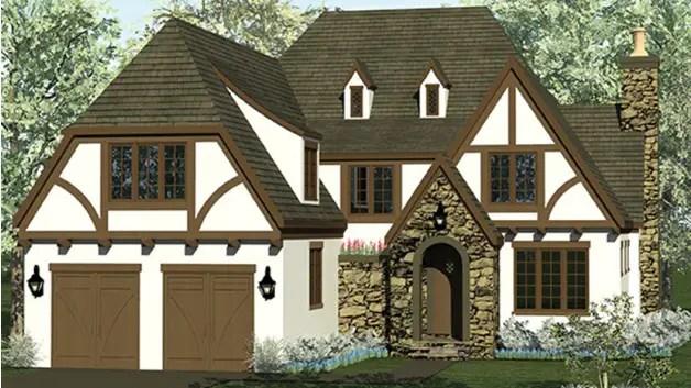 Case in stil bavarez eleganta rustica for House style examples