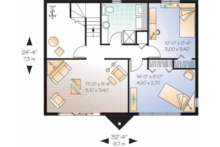 case in stil elvetian Swiss style house plans 5