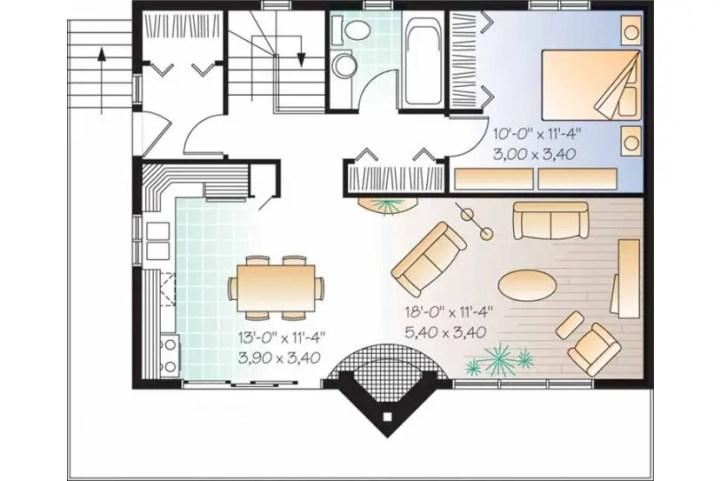 case in stil elvetian Swiss style house plans 6