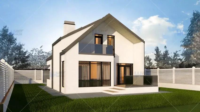 Case moderne mici cu mansarda alegerea practica for Colori case moderne