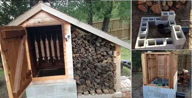 Construirea unei afumatori din caramida acasa
