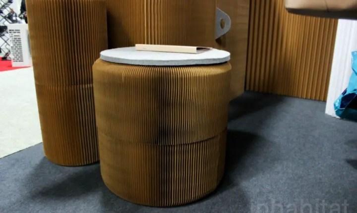 mobila din hartie paper furniture 5