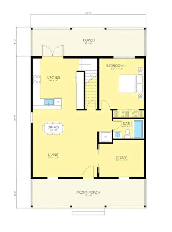 proiecte de case ieftine cu mansarda House plans that are cheap to build 6