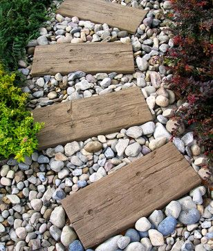 alei din pietris gravel alley design ideas 4