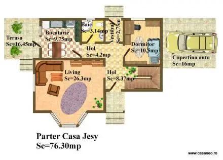 case construite din panouri sandwich Sandwich panel houses 16