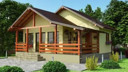 Case construite din panouri sandwich practice