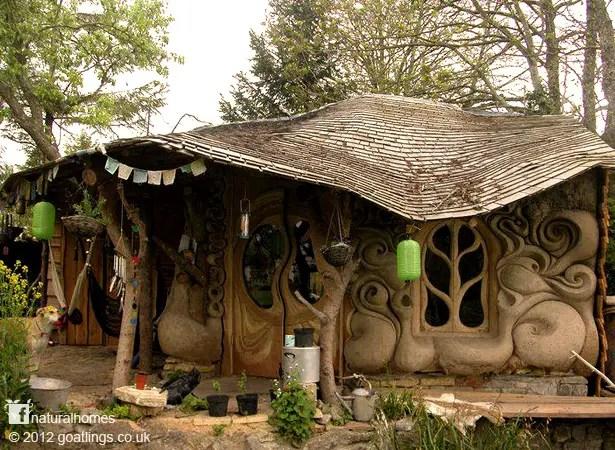 case ecologice construite din lut Natural cob houses 12