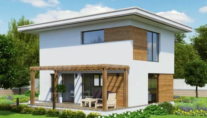 case moderne din lemn modern wood house plans 10