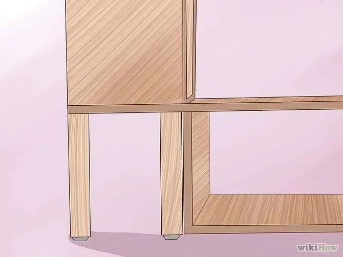 construirea unui pat din lemn How to build a wood frame bed 14
