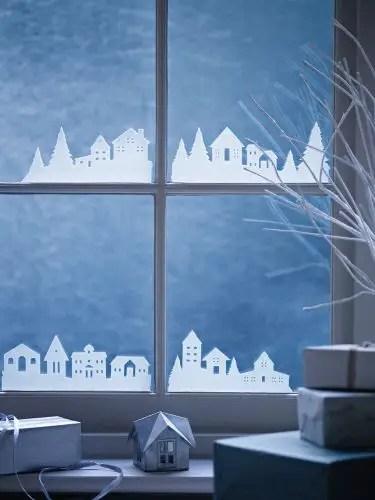 decorarea geamurilor de craciun Christmas window design ideas 18