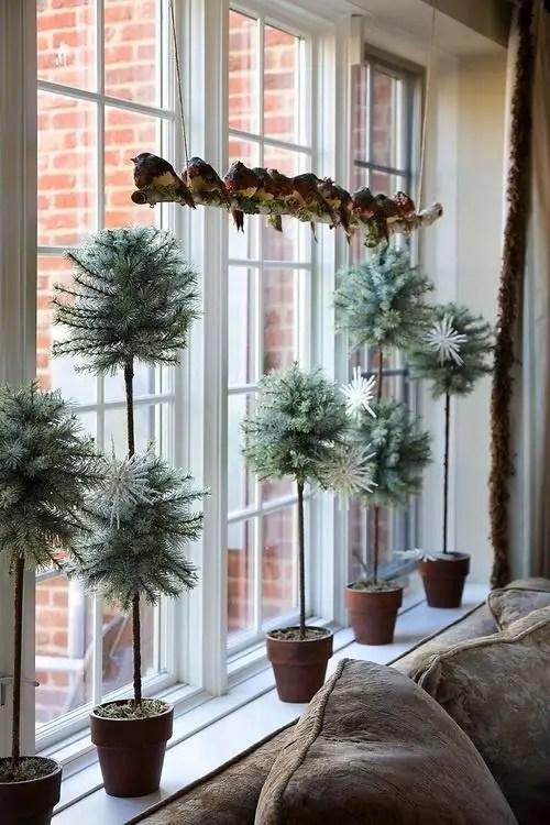 decorarea geamurilor de craciun Christmas window design ideas 21