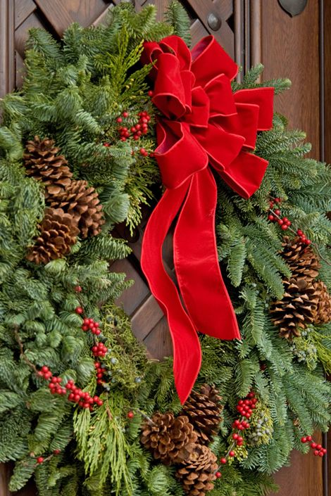 decoratiuni din crengi de brad Christmas fir branches decorations 12