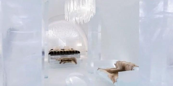 Hotelul de gheata din Suedia