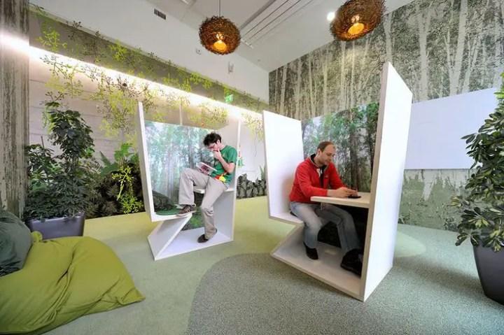 idei de amenajare a unui birou office design ideas 14