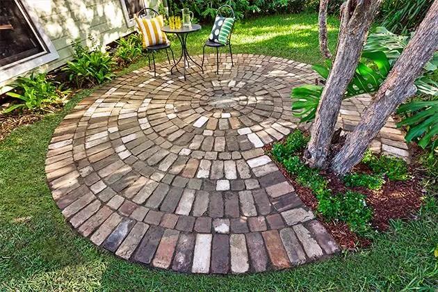 idei pentru pavat curtea yard paving design ideas 13
