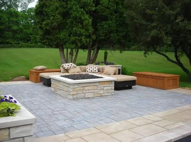 idei pentru pavat curtea yard paving design ideas 17