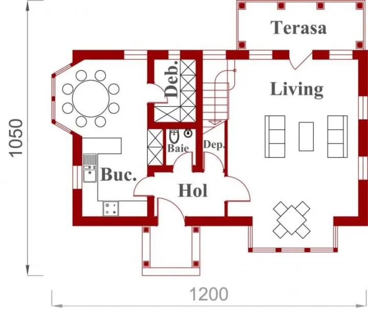 proiecte de case din ardeal Transylvanian style houses 7