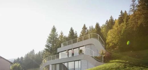Casa din deal din Franta