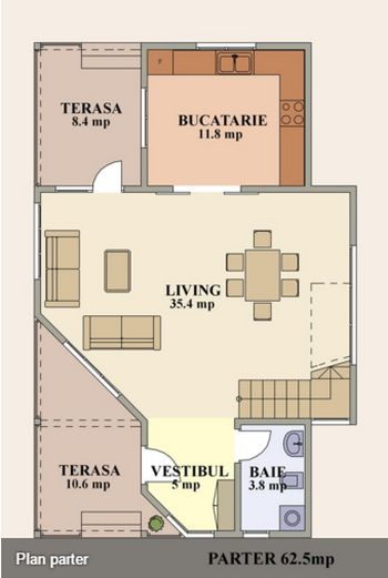 case cu mansarda sub 150 de metri patrati loft houses under 150 square meters 13