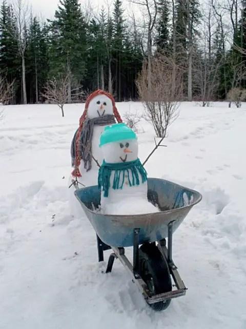 cei mai frumosi oameni de zapada Most creative snowmen 19