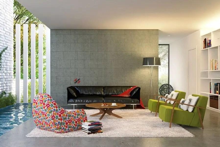 Culori moderne pentru living room