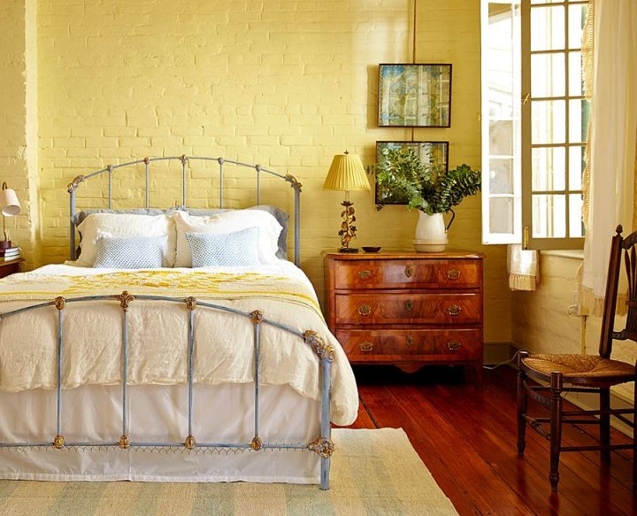 dormitoare cu pereti din caramida Bedrooms with brick walls 6