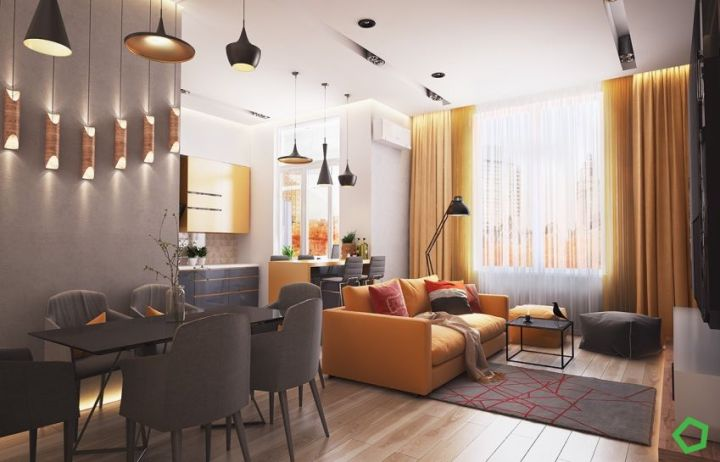 galbenul in design interior yellow accents in interior design 4