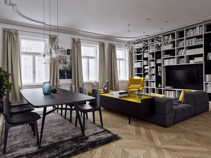 galbenul in design interior yellow accents in interior design 5