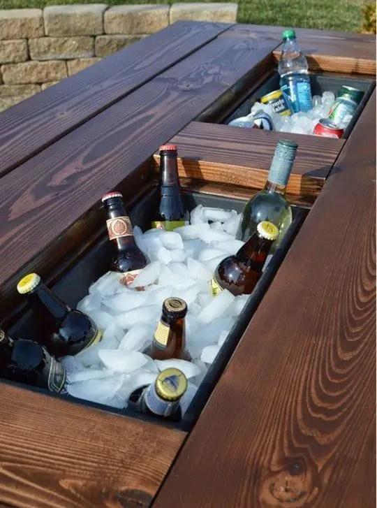 mese din lemn pentru terase Outdoor wooden tables 8