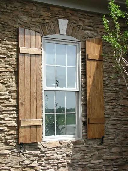 obloane din lemn pentru ferestre wood shutters 7