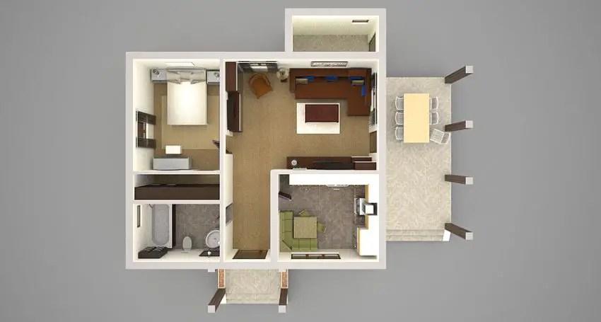 Small Kitchen Design Floor Plans