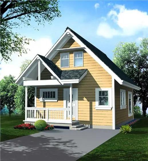Proiecte casa cu mansarda pe 70 de mp pentru tineri